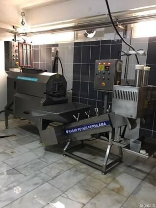 100кг оборудованиe для переработки творога и плавленого сыра