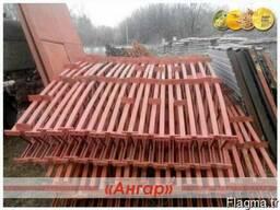Ангар арочного типа демонтирован в полной комплектации
