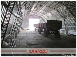 Ангары арочные, шатровые, прямостенные от производителя - photo 7
