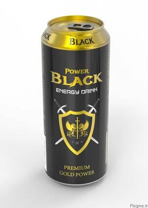Black power energy drink