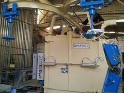Дробеметная установка подвесного типа ( 2 турбины) Askum-2
