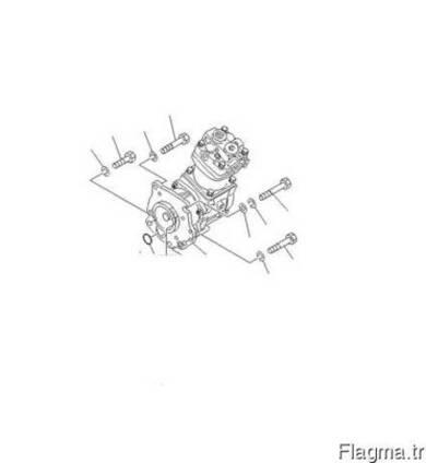 Komatsu 6162-83-6600 Компрессор воздушный