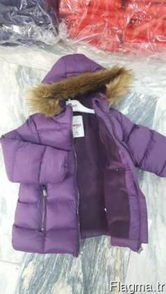 Куртки детские тёплые