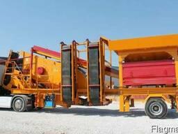 Моично-сортировочная установка для песка GNR YM1650.