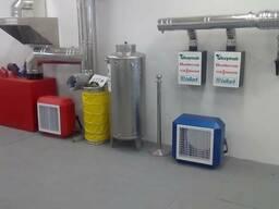 Нержавеющие системы дымоходов, обогревателей и охлаждение.