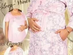 Ночные рубашки для будущих и кормящих мам