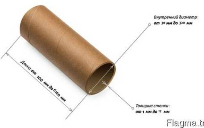Производим картонные спирально-навивные втулки, гильзы, шпули