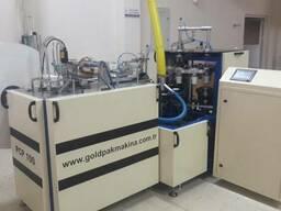 Станок для формирования бумажных стаканов PCP100.