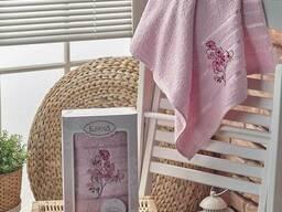 Вафельные полотенца в наборе - фото 6