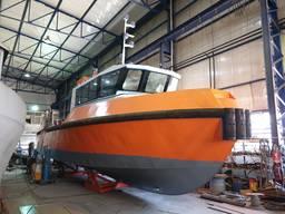 14. 95 Meter Steel Crew Supply boat-Agent Boat