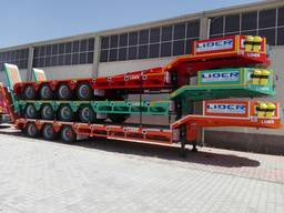 4 axle lowbed trailer