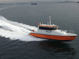 49ft aluminium pilot & crew boat
