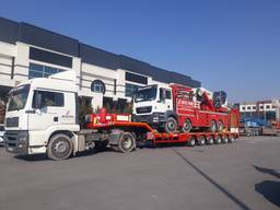6 axle lowbed trialer from manufacturer