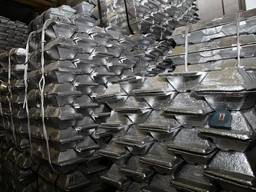 Алюминий в чушках/Aluminium ignots