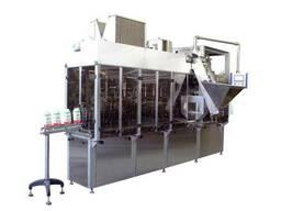 Автомат. аппарат для наполнения муки в бумажные пакеты 1-2кг