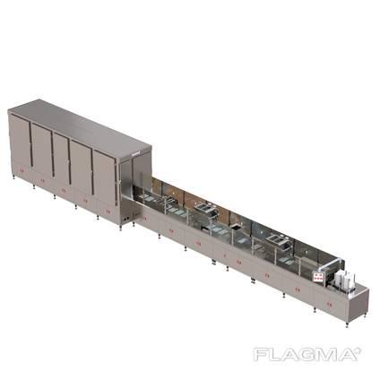Автоматическая Линия формования шоколадных изделий