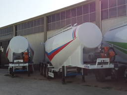 Cement tanker trailers