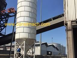 Цементный силос болтового типа 500 т. Готов к отправке