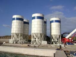 Цементный силос емкостью 300 т