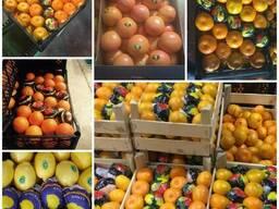 Цитрусовые Лимон Апельсин , Фрукты