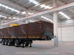 Grain carrier // Flatbed Semitrailers