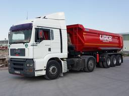 Hardox tipper semi trailer for sale