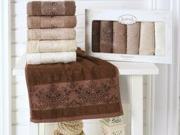 Махровые полотенца оптом из Турции (сток) - фото 2