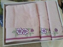 Махровые полотенца оптом из Турции (сток) - фото 6