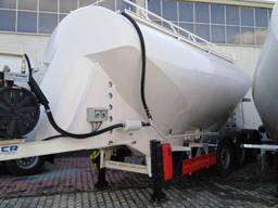Millennium cement tankers from maufacturer