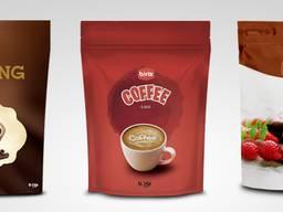 Многослойная упаковка для порошковых продуктов (кофе, какао)