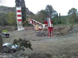 Мобильный бетонный завод 60m3 Konbantsan Турция