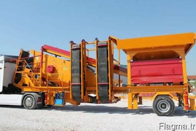 Моечно-сортировочная установка для песка GNR YM1650.