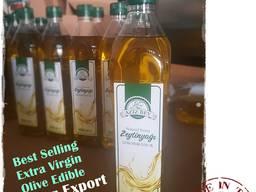 Настоящее Оливковое масло Extra Virgin 5л, первый хол. отжим