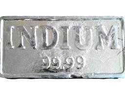 İndiyum külçe | metal indiyum markası InOO GOST 10297-94