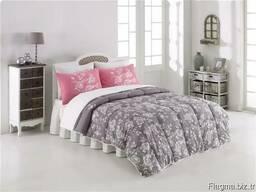 Одеяла стёганные в комплекте с пастельным бельём - фото 2