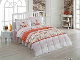 Одеяла стёганные в комплекте с пастельным бельём - фото 6
