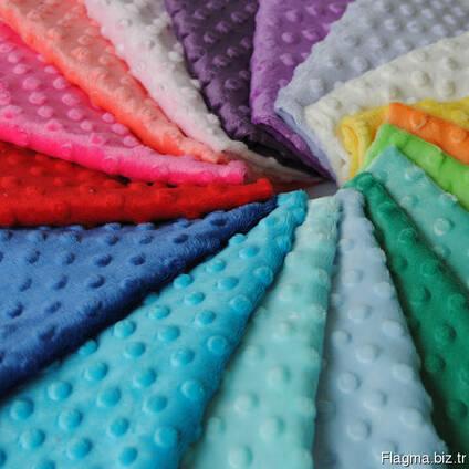 Плюшевая ткань Минки