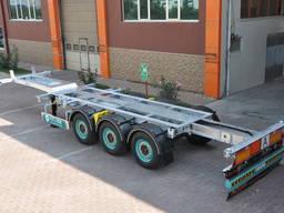 Полуприцеп Контейнеровоз (для перевозки 20-30-40-45 футовых контейнеров)