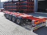 Полуприцеп Контейнеровоз (для перевозки 20-30-40-45 футовых контейнеров) - фото 4