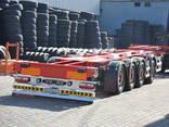 Полуприцеп Контейнеровоз (для перевозки 20-30-40-45 футовых контейнеров) - фото 15