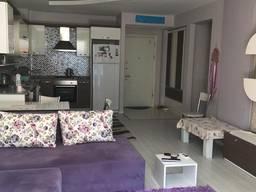 Продается уютная квартира 1 1 в молодом микрорайоне Коньяалты - Сарысу