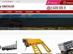 Продажа и производство дампер трейлеров