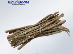 Meyan kökü ve rizomları, kesilmiş, 25-40 cm