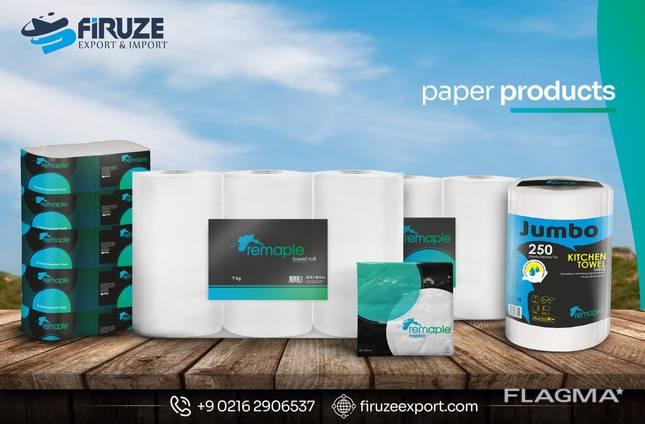 Салфетки и бумажные полотенца Remaple
