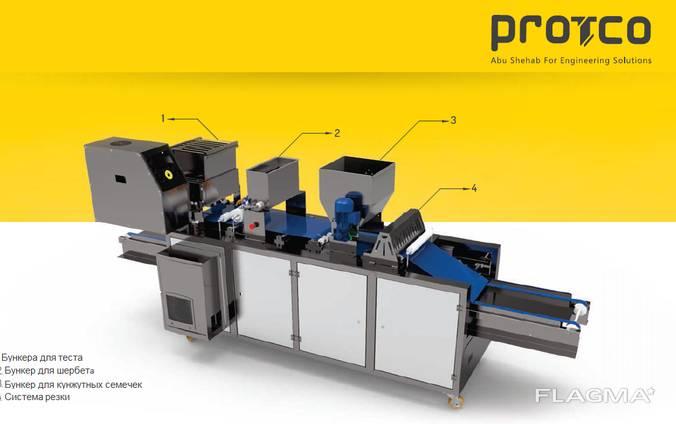 SCM-41 Оборудование для производства Гриссини хлебных палоче