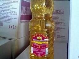 Украинское масло подсолнечное. рафинированное . дезодориров