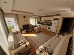 Уютная квартира 2 1 площадью 100 м2 в престижном районе Хурма/Коньяалты.
