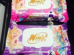 Влажные салфетки Winx