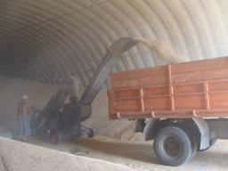 Зернохранилища арочные напольного типа - стальные хранилища