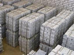 Zinc ingots according to GOST 99. 98 / 99. 99 Цинк в чушках